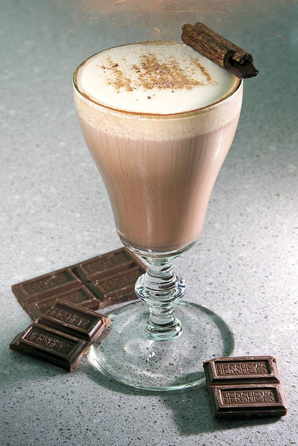 Andrew Pollard's Hot Xocolat, concocted exclusively for the Weekly Booze Issue.