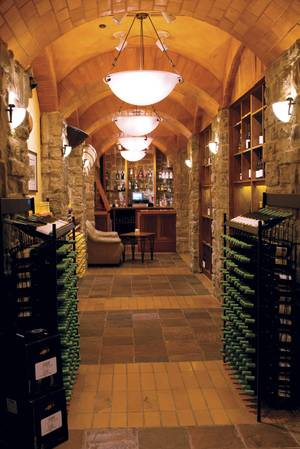 The Rio's Wine Cellar & Tasting Room, located under the hotel at the eastern end of the casino.