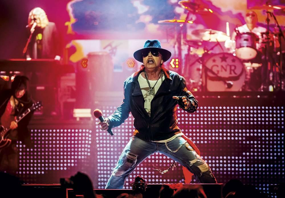 Guns N Roses Vegas
