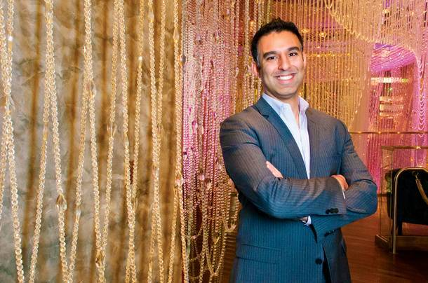 Rehan Choudhry, shown here during his days as entertainment director at the Cosmopolitan, plans to launch Life Is Beautiful next fall.