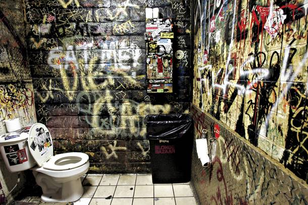 Double Down's infamous loo.
