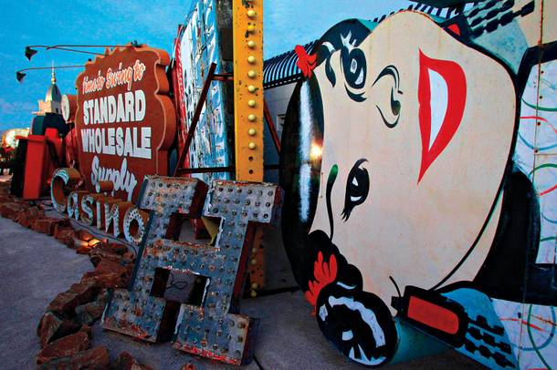 Art of our own: the Neon Museum.