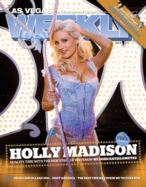 Holly graced the <em>Weekly</em> cover on June 18, 2009.