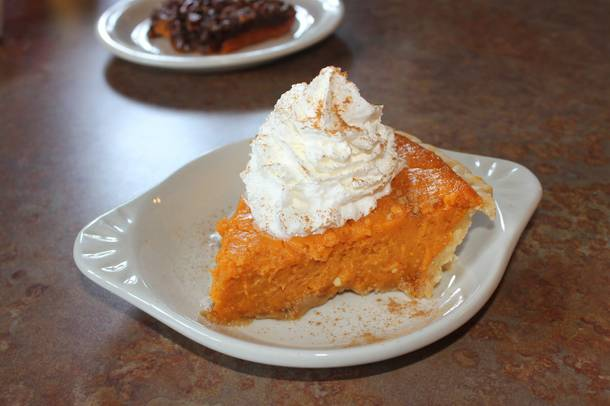 Top Notch's sweet potato pie.