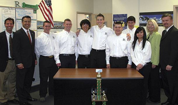 Rancho High's Real World Design Challenge squad took third at nationals with their unique design for a plane—so unique that the FAA is currently looking at creating new regulations.