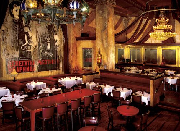 Red Square at Mandalay Bay has an excellent food and drink selection.