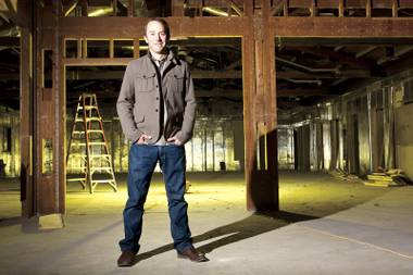 "North Carolina native is overseeing Zappos' move Downtown and creating the ""co-working capital of the world."""
