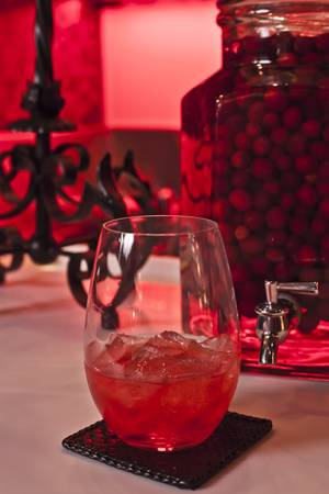 Seasonal infusions are a key ingredient at Scarlet. This cranberry tequila is way better than you think.