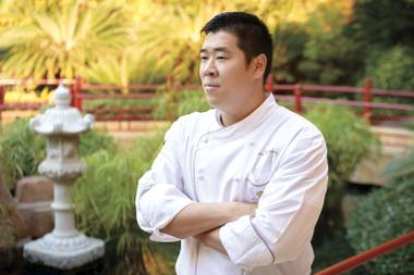 Chef Devin Hashimoto helped turn Okada into the more modern Mizumi at Wynn last year.