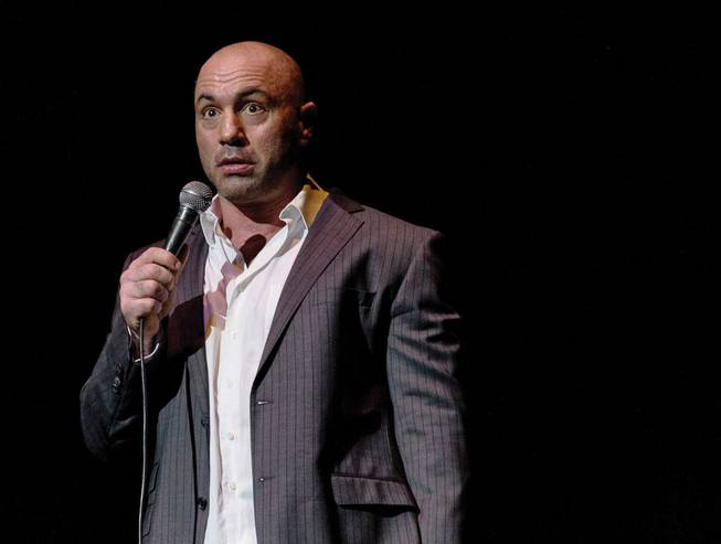Ordinary Joe: Rogan rolls into Mandalay Bay on February 1.