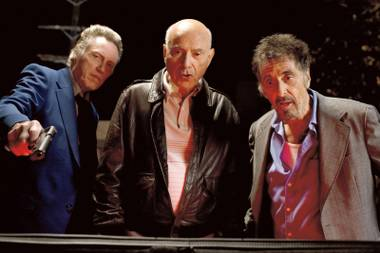 Christopher Walken. Alan Arkin. Al Pacino. Bad movie.