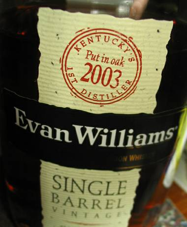 Yep, Evan Williams Single Barrel 2003 is THAT good.
