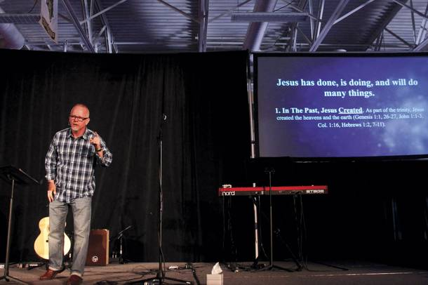 Pastor Dave Earley founded Grace City church in Las Vegas in 2012. He says it's a