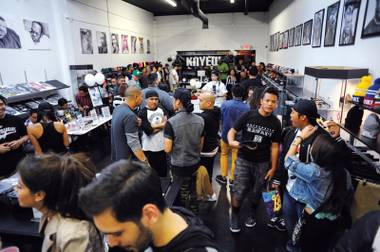 Chinatown street shop KNYEW hosts an evening of fun, food and beats.