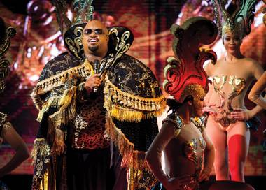 Cee Lo is looking regal on the Strip.