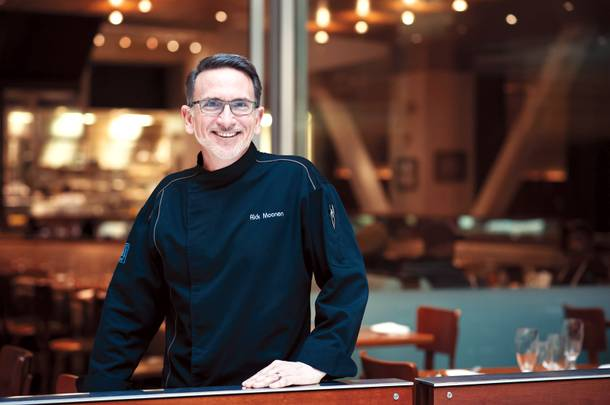 Chef Rick Moonen says he's getting ready to reinvent the upstairs of RM Seafood.