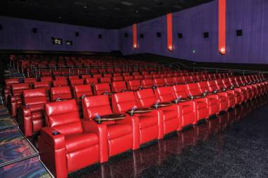 The former United Artists theater in Green Valley was transformed into a luxurious moviegoing experience, with plush recliners, reserved seating and more.