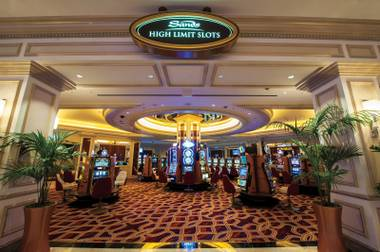 Room to spend: The Venetian's High-Limit Slot Parlor offers luxury at $5,000 a spin.