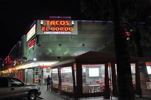 Tijuana-import Tacos El Gordo is the best late-night bite on the Strip.