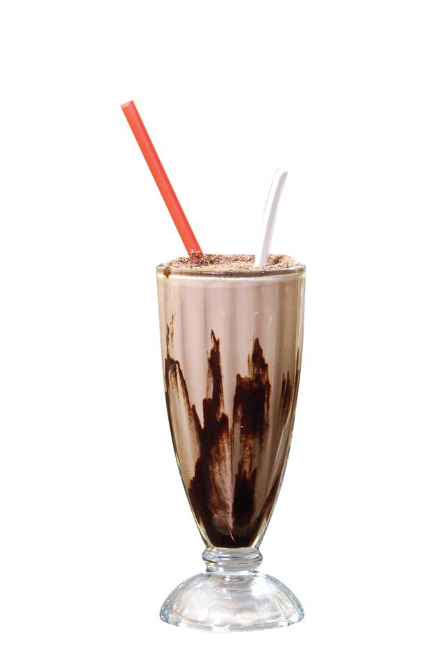 Cherry Chocolate Thunder Shake
