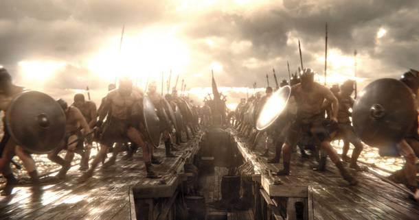 300: Rise of an Empire is built around the battles of King Xerxes.