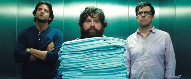 They're back, again. The Hangover Part III arrives May 24.
