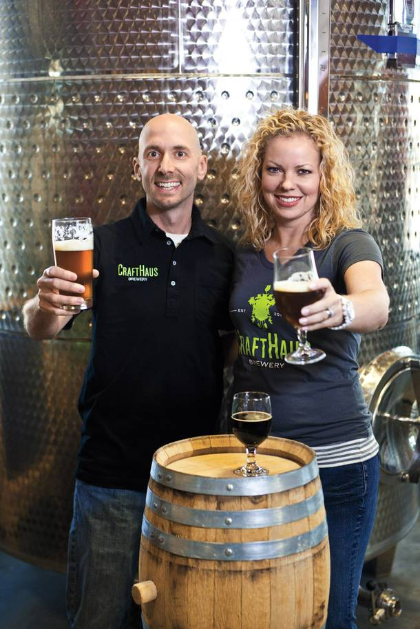 CraftHaus founders Dave and Wyndee Forrest are hoping to raise $20,000 by June 1 through a Kickstarter campaign so they can launch their proposed brewery.