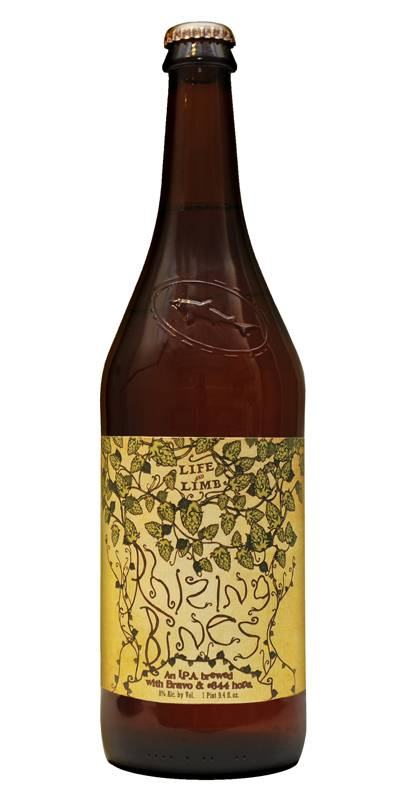 Sierra Nevada and Dogfish Head collaboration Rhizing Bines
