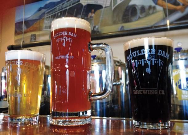 Boulder Dam Brewing is the only brewery in Boulder City.