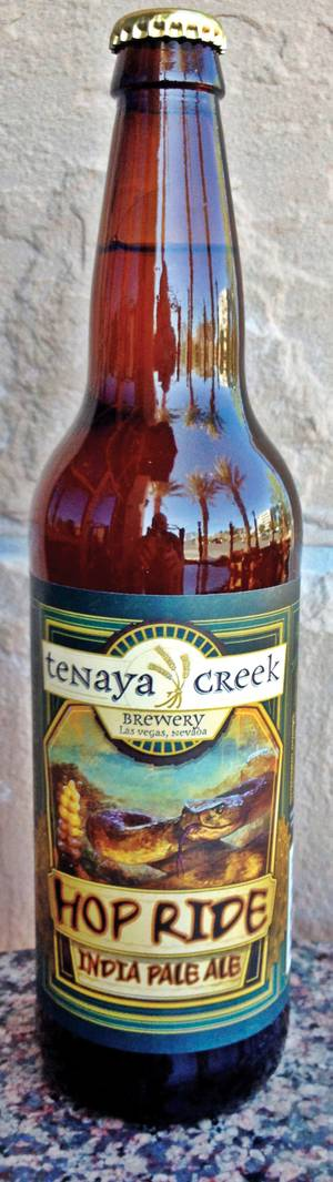 The Hop Ride IPA is Tenaya Creek's signature brew.