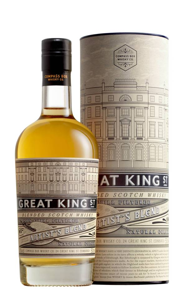 Great King St. is a blend of single malt and grain whiskies that's winning awards and legions of fans.