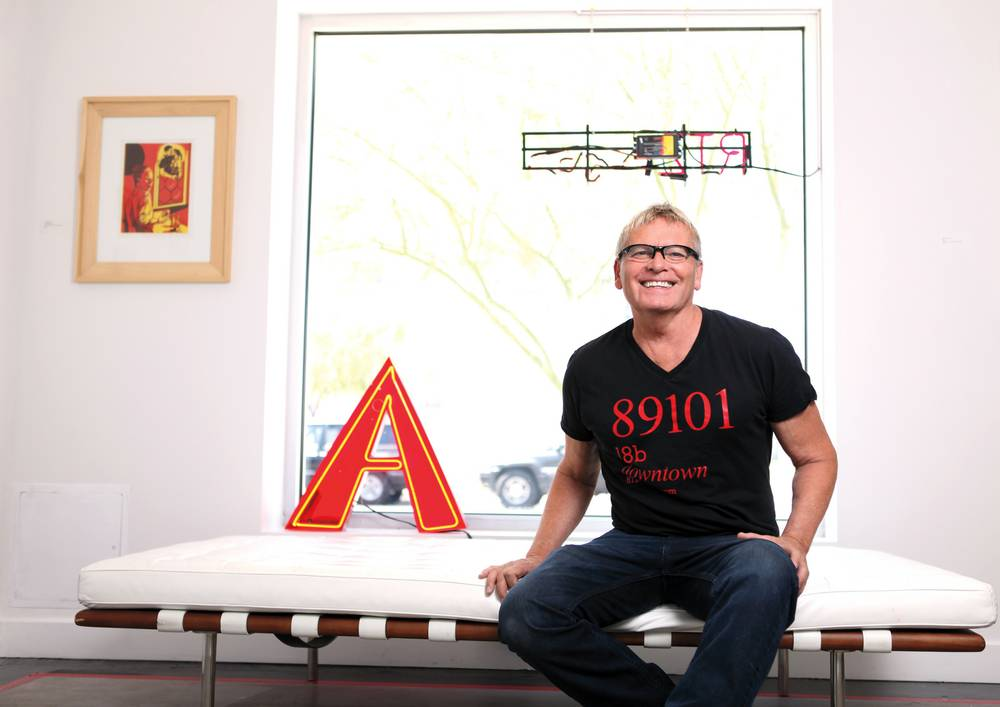 Richard Hooker discusses art, the Neon Museum and his new gallery in Downtown Las Vegas