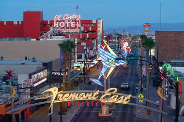 There'll be no fencing off of Fremont East for July's First Friday, sources say