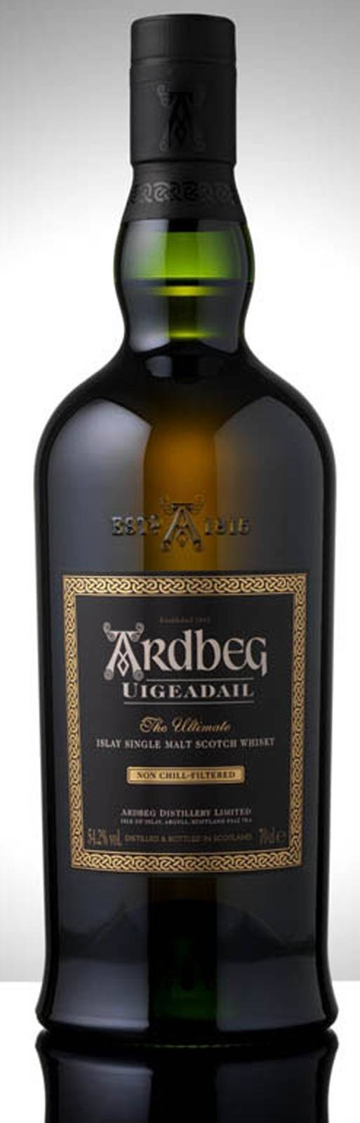 Ardbeg Uigeadail: Hard as hell to spell and often mispronounced, but just call it