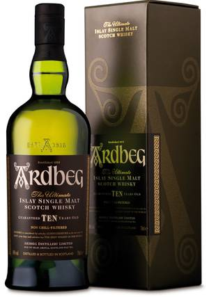 If you're looking for a whiskey that should always be on your shelf, Ardbeg 10-Year-Old fits that bill nicely.
