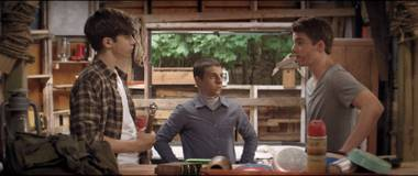 Would-be kings: The boys of The Kings of Summer.