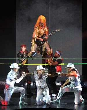 Cirque's <em>Michael Jackson One</em> pours on the visuals.
