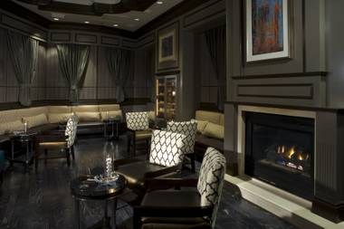 The Monte Carlo whiskey lounge features a 12,000-bottle collection.