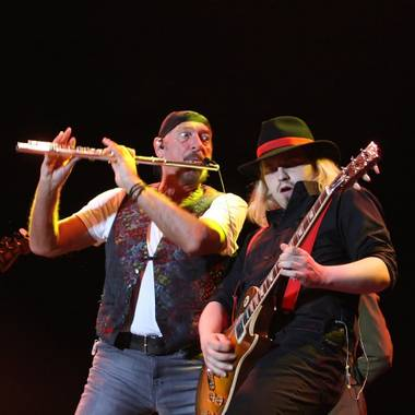 The Jethro Tull leader's live presentation of 'Thick as a Brick 2' was the real revelation.