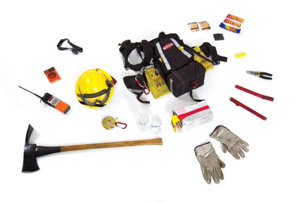 The essential equipment that firefighters used to battle the Mount Charleston blaze.