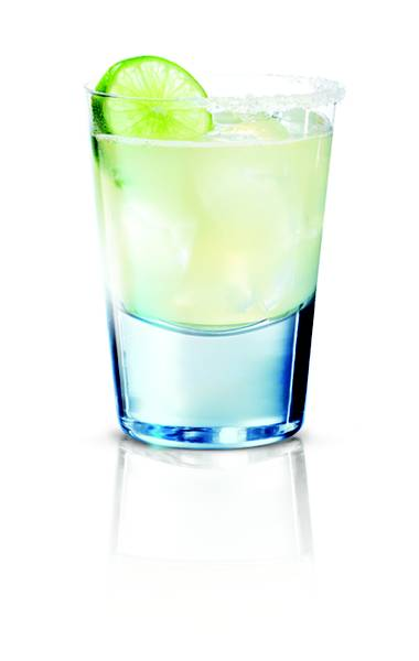 Three simple ingredients equals margarita freshness.