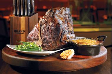 This is one Vegas steakhouse where beef is still king.