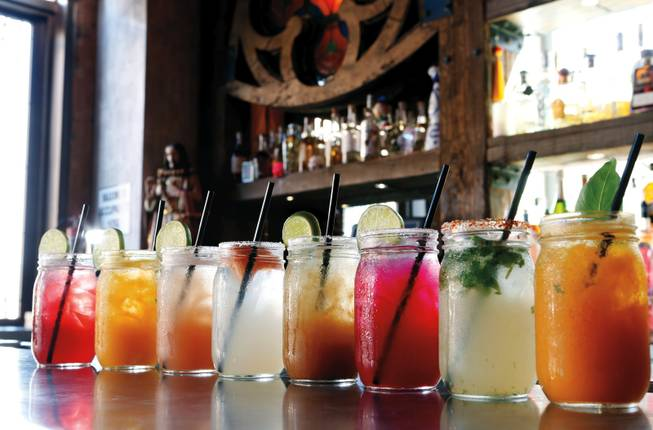 La Comida's colorful margarita lineup comes with a side of excellent company.