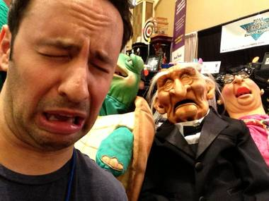 Rick spent $400 on stuff at the MAGIC Live convention, but don't worry—he didn't buy any puppets.