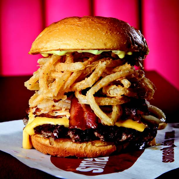 Smashburger just opened its first Henderson restaurant on Eastern Avenue.