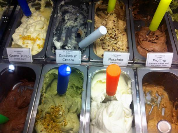 The Art of Flavors serves hand-crafted gelato on Las Vegas Boulevard.