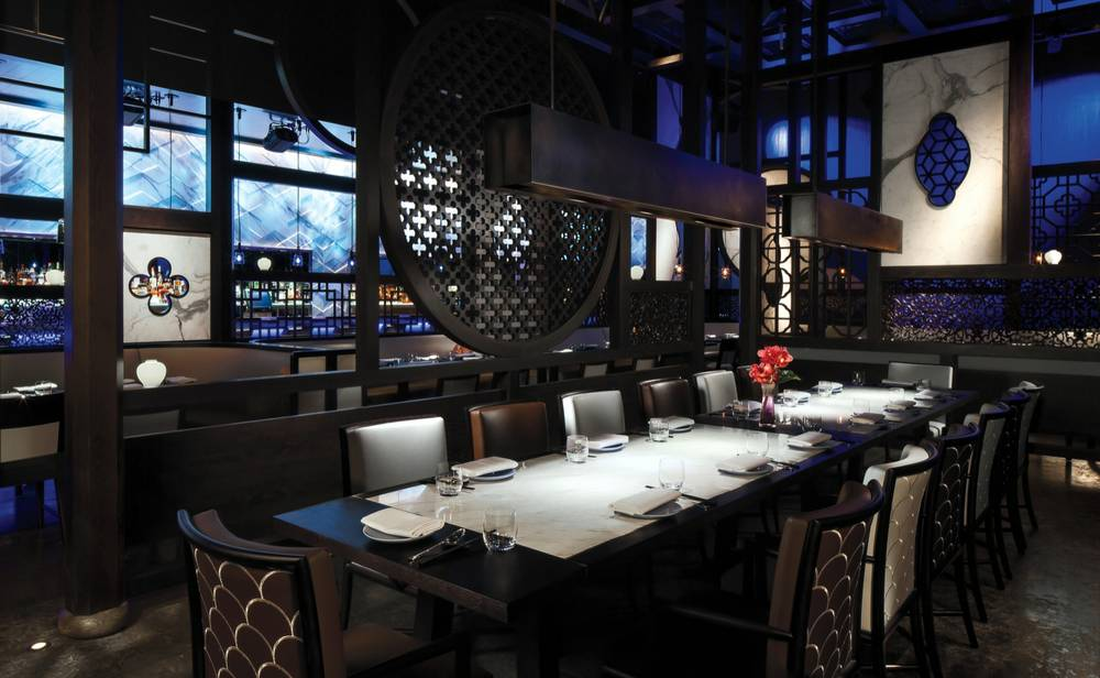 Hakkasan's dining is just as lavish as its nightlife