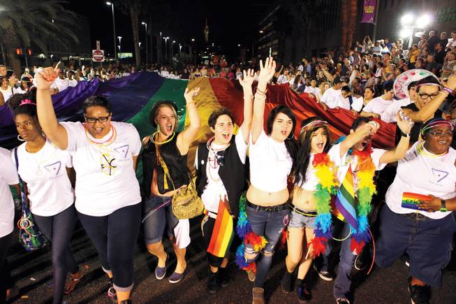 SNAPI celebrates the 30th anniversary of Las Vegas Pride this weekend with a Friday night parade, Saturday festival and many affiliated parties and events.