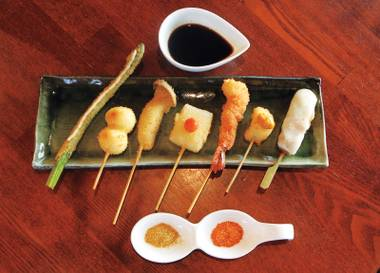 Kushiage is one of the newest Japanese cuisines to land in Chinatown.