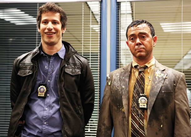 Andy Samberg and Joe Lo Truglio co-star in the very promising Brooklyn Nine-Nine.